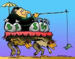 La distribuzione della ricchezza nel mondo - politica di sfruttamento